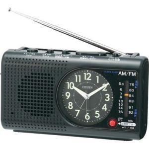 シチズン ラジオ懐中電灯付 目覚ましワンダーボーイエスコートBC001-A02|rcmdin
