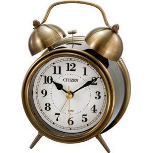 シチズン目覚まし時計 ツインベル RA06 8RAA06-003|rcmdin