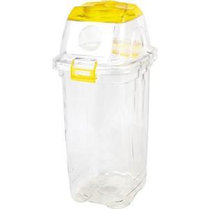 積水 透明エコダスター #45缶用 TPDR45Y 清掃用品・ゴミ箱