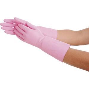 ショーワ No132ビニトップ厚手 Lサイズ ピンク NO132-LP 作業手袋・ビニール手袋|rcmdin