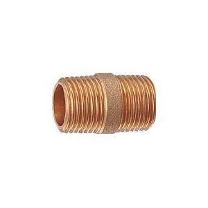 カクダイ 砲金丸ニップル 6499Y-13 管工機材・水道配管資材|rcmdin