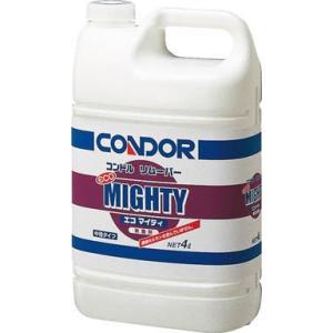 コンドル 剥離剤 リムーバー エコマイティ 4L CH377-04LX-MB 清掃用品・床用洗剤・ワックス|rcmdin