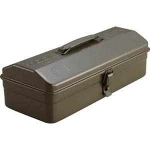 TRUSCO 山型工具箱 359X150X124 OD色 Y-350-OD 工具箱・ツールバッグ・スチール製工具箱|rcmdin