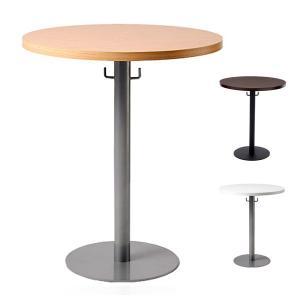 テーブル ラウンドテーブル 円形 幅60 ミーティングテーブル 丸テーブル 会議テーブル カフェテーブル ホワイト ブラウン 丸形 白 茶 代引不可 rcmdin