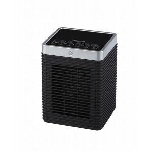 ユアサプライムス キューブセラミックヒーター YKT-S800SM BK 暖房器具 あったか 冬物家電 人感センサー付き 省エネ|rcmdin