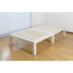 総桐ステージすのこベッド SSサイズ セミシングル ベッド シンプル すのこ 天然木 ベッドフレーム 代引不可|rcmdse