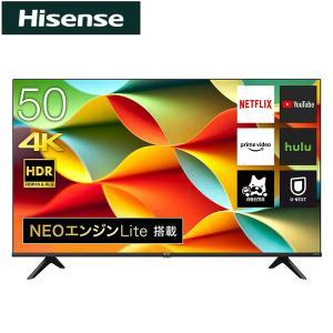 ハイセンス 50V型 4K液晶テレビ 50A6G 開梱設置不可 代引不可 rcmdse