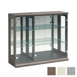 コレクションボード 幅97cm 奥行31cm 高さ83cm 完成品 リビングボード コレクションラック 飾棚 収納 ガラス フィギュア 代引不可|rcmdse