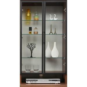 コレクションラック 幅60cm×高さ109cm 上台A ガラス扉 国産  コレクションボード 飾り棚  ガラス棚  ショーケース  代引不可|rcmdse