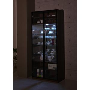 コレクションラック カップボード 幅77.6cm×高さ180cm コレクションケース 飾り棚 ガラス棚 ショーケース 代引不可 rcmdse 02