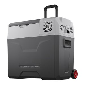 ポータブル冷凍冷蔵庫 50L 冷蔵庫 冷凍庫 ポータブル AC DC クーラーBOX クーラーボックス 車載 釣り BBQ アウトドア お出かけ 代引不可|rcmdse