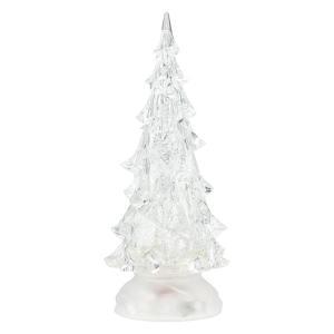 LED キラキラスノーツリー LEDウォーターツリー クリスマスツリー ミニツリー 卓上 ツリー イルミネーション WDL-1854 rcmdse