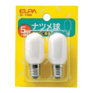 ナツメ球白 G-10B エルパ ELPA 朝日電器|rcmdse