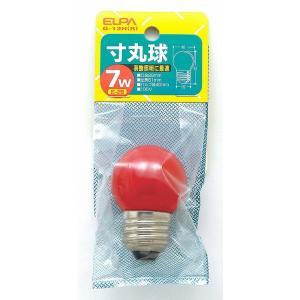 寸丸球赤 G-13H R エルパ ELPA 朝日電気|rcmdse