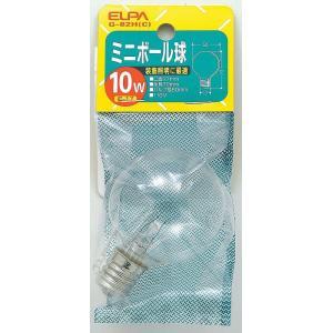 ボール球10W G-82H C エルパ ELPA 朝日電器|rcmdse