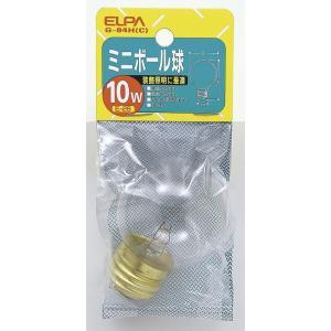 ボール球10W G-84H C エルパ ELPA 朝日電器|rcmdse