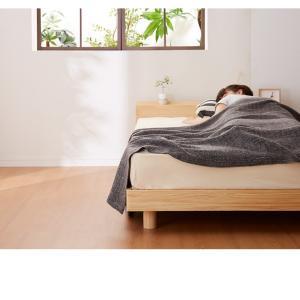 宮付きすのこベッド コンセント付き セミダブル 棚付き 宮付き 北欧 ベット すのこベッド 木製 ワンルーム ベッドフレーム シンプル スノコ すのこ|rcmdse|19