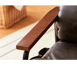 ポケットコイル入り高脚座椅子 座椅子 リクライニング ポケットコイル 高座椅子 一人掛け チェア 肘掛け ハイバック 椅子 いす 代引不可|rcmdse|12