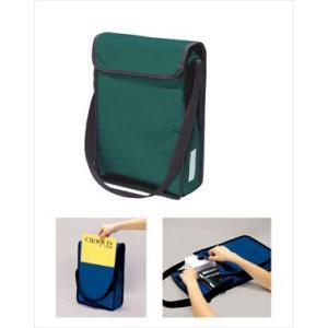 A4 ショルダースケッチバッグ 緑 10314|rcmdse
