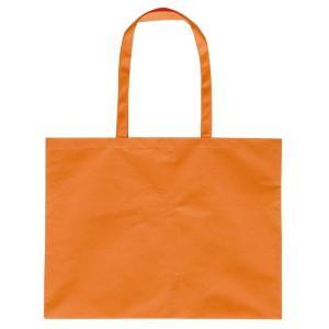 作品収納バック大チャック付オレンジ 雑貨 バッグ鞄|rcmdse