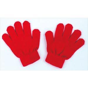 カラーのびのび手袋 赤 1200|rcmdse