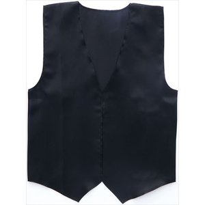 衣装ベース サテンベスト 小 黒 2139 rcmdse