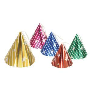 三角帽子 ゴム付 5色アソート 季節商品 クリスマスサンタもみの木プレゼント|rcmdse
