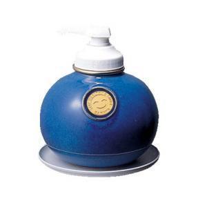 サラヤ ウォシュボン陶器製容器 MF-1 ポンプ付 1L×6本 マリンブルー ポイント10倍