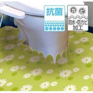 ETU-67 EASEトイレ床模様替えシート 91cm×200cm グリーン|rcmdse