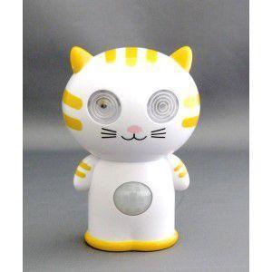 東心 猫型 キャラクターLEDセンサーライト KL-35|rcmdse