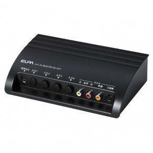ELPA朝日電器 AVセレクター 4IN1 ASL-S411 ポイント10倍