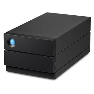 エレコム LaCie 2big 中古 RAID USB-C 8TB ショッピング STHJ8000800 周辺機器 データ バックアップ PC機器 代引不可