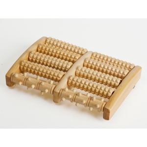 デメテル 木製足つぼローラー DMT10956 雑貨・ホビー・インテリア 雑貨 雑貨品 DMT10956|rcmdse