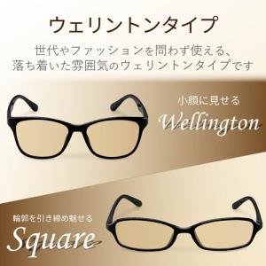 エレコム ブルーライトカット眼鏡/ブラウンレンズ/ウェリントンフレーム/ブラック G-BUB-W02BK パソコン エレコム G-BUB-W02BK rcmdse 05