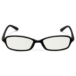 エレコム ブルーライトカット眼鏡/クリアレンズ/スクエアフレーム/ブラック G-BUC-S02BK パソコン エレコム G-BUC-S02BK|rcmdse
