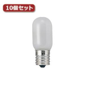 YAZAWA ナツメ球 E12 5W 白 2個パック10個セット 1CT2PX10 rcmdse