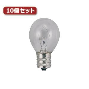 YAZAWA ミニランプ S35 E17 40W形 クリア10個セット S351736CX10 rcmdse