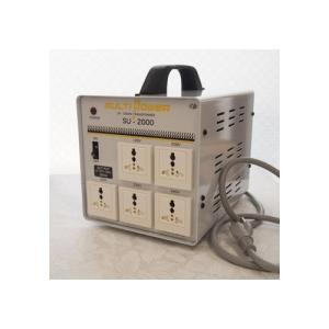 スワロー電機 受注生産のため納期約2週間100~240V対応 マルチ変圧器 2000W SU-2000|rcmdse