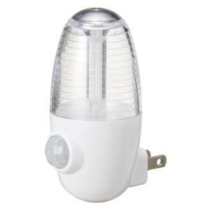 YAZAWA LEDセンサーナイトライトホワイト  NASMN01WH 家電 照明器具 その他の照明器具 代引不可|rcmdse