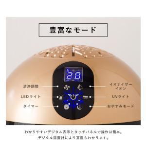 ソウイジャパン  アロマ空気清浄機 バイオナースボール DX 大容量 抗菌消臭付|rcmdse|09