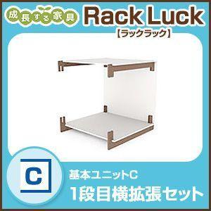 Rack Luck ラックラック 基本ユニットCラック シェルフ 棚 収納 組み立て 壁面 RL-01C|rcmdse