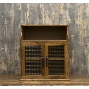 木製雑貨 オールドウッド キャビネット|rcmdse