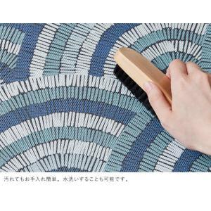 デザイン ドアマット 玄関マット 73×43 ウッド柄 木目柄 波柄 リーフ柄 薄型 玄関マット かわいい おしゃれ 代引不可|rcmdse|13