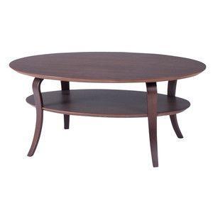 テーブル センターテーブル ローテーブル ブラウン NET-406BR|rcmdse