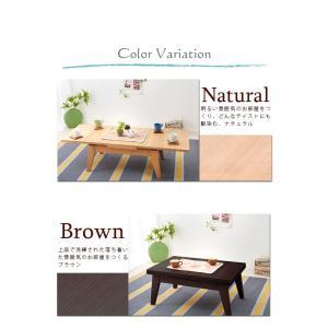 エクステンション リビングテーブル Palette パレット Sサイズ 80-130cm 3段階伸長式  代引不可|rcmdse|06