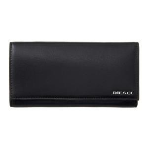 ディーゼル DIESEL X04457PR227H6586 Black-Orange Pepper 長財布|rcmdse