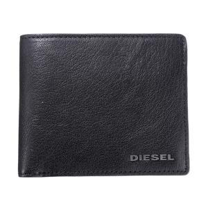 DIESEL ディーゼル X03925 PR271 T8013 Black 二つ折財布|rcmdse