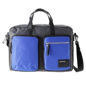 DIESEL ディーゼル X03000 P0409 H5970 Grey/Blue/Black ビジネスバッグ|rcmdse