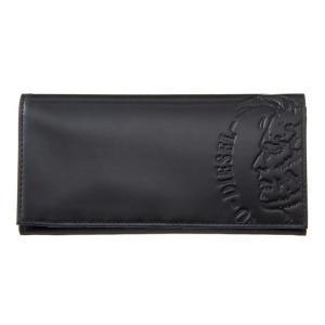 DIESEL ディーゼル X04765 PR160 T8013 Black 長財布|rcmdse
