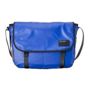 DIESEL ディーゼル X04814 P1157 T6050 Surf blue ショルダーバッグ|rcmdse